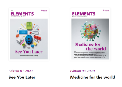 LIBERATE in our partner's magazine ELEMENTS EVONIK